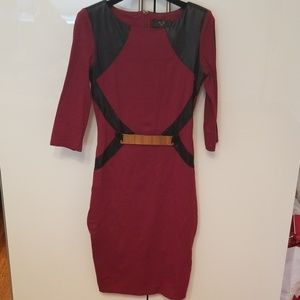 Armani exchange Paris midi dress